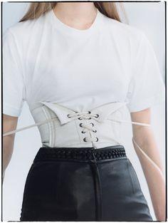 Fashion embraces the cinched waist.