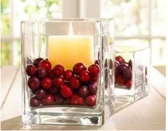 Use cranberries as a filler