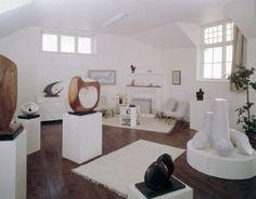 Barbara Hepworth Museum & Sculpture Garden in St Ives, Cornwall