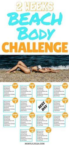 72 Best Bikini Body Workout Plan Images Workout Plan Workout