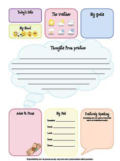 training journal log sheet