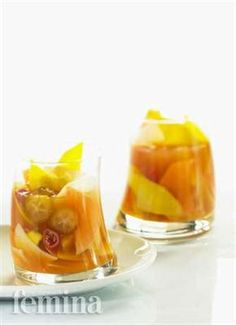 Femina.co.id: RUJAK KECOMBRANG #resep Indonesian Cuisine, Fruit Salad, Smoothies, Side Dishes, Food Photography, Food And Drink, Cooking Recipes, Snacks, Pickle