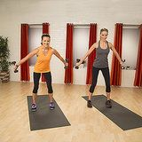 Quiet, in home workouts. They even have one for hotel rooms too!