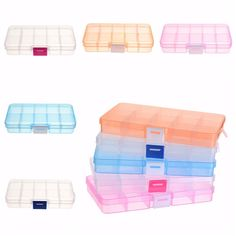 immiliving Cosmetic Organizer Acrylic Makeup Case Drawers Box
