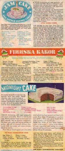 Various Cake Recipes                                                                                                                                                                                 More