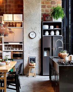 海外のキッチンインテリアを参考に☆キッチンはここまで楽しんで良い!   folk