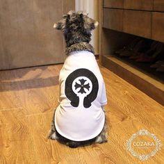 chrome hearts 犬服 tシャツ 刺繍 クロームハーツ ドッグウェア Tシャツ 半袖 ししゅう  ホワイト 猫服 ブランド ペットウェア 夏新作☆ http://www.cozaka.com/goods/chrome-hearts-dog-t-shirt-172.html