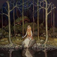John Bauer (1882-1918) - Scandinavian mythology