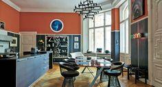 paredes con molduras farrow ball dining