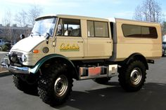 unimog doka rv | For Sale: 1976 Unimog 416 Doka
