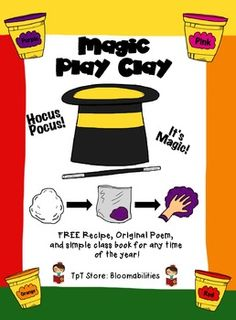 Fun FREEBIE for the beginning of school.  Original poem, recipe, and class book included.  Enjoy!