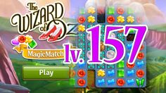 Wizard of Oz: Magic Match - Level 157 (1080/60fps)
