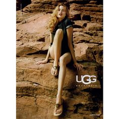 UGG Ad Campaign Spring/Summer 2009 Shot #17 - MyFDB ❤ liked on Polyvore featuring ad campaign