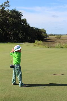 long driver! The Landings kids golf camps