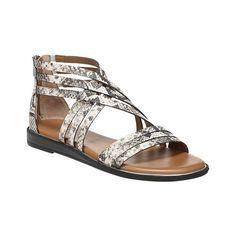 deeef8bee64 Franco Sarto Women s Gaetana Toe Loop Strappy Sandal