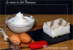 """Ver el video de esta receta    Merengue suizo, este merengue es el ideal para preparar las coberturas de las tartas tipo """"Pay de lim..."""