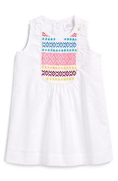 egg by susan lazar Embroidered Sleeveless Dress (Baby Girls) available at #Nordstrom
