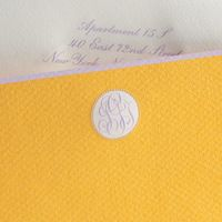 the printery - wonderful custom monograms and paper goods