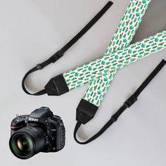 Camera Strap-Cactusunique dslr camera strapSLR от NiceStraps