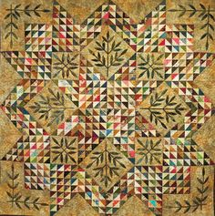 Result of the TQS triangle exchange combined with Edyta's genius for design.  Simply lovely!