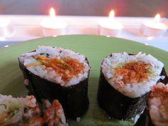 Prima lezione - Vegan sushi variopinto