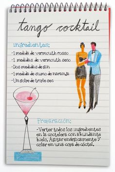 Tango cocktail: cóctel con ginebra