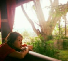 Feeling nostalgic @La Oma Lembang