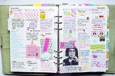 I used to have journals like this when I was a teenager. Good times.