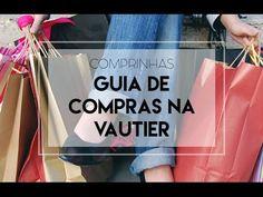 Se você me acompanha lá no Youtube já está acostumado a me ouvir falar sobre a Vautier. Trata-se de uma rua, que fica lá no Pari (em São Paulo), com vários shoppings e lojas de roupa, decoração e bijus. Para os consumistas é um paraíso. Chopper Bike, Paper Shopping Bag, Youtube, Tote Bag, Blog, Instagram, Fashion, Folding Clothes Rack, Women's Fashion Tips