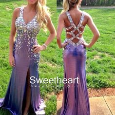 Sweetheart Girl | Amazing Backless Rhinestone Long Prom Dresses, Formal Dresses | Online Store Powered by Storenvy