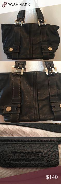 Michael Kors bag Beautiful pebble black leather shoulder bag. Excellent condition both inside and out. Michael Kors Bags