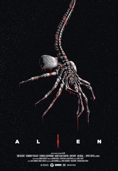 "johnny-dynamo: ""Alien by Miki Edge "" Alien Vs Predator, Predator Movie, Alien Film, Alien 1979, Giger Alien, Hr Giger, Arte Alien, Alien Art, Arte Horror"