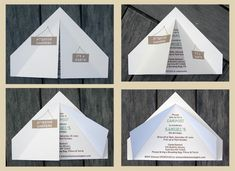 Tent invitation for camping birthday party