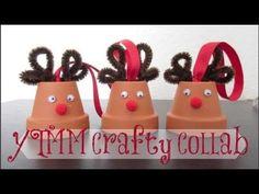 DIY Reindeer Ornaments - YouTube
