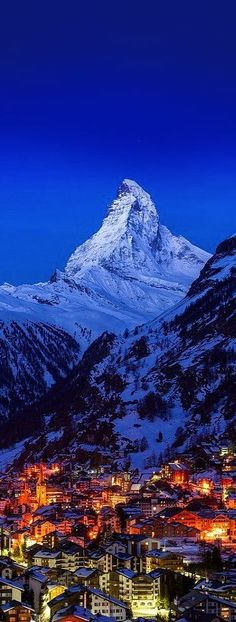 The Matterhorn, Zermatt, Switzerland