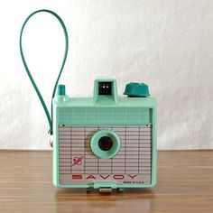 Mint Green Savoy Camera, $55, now featured on Fab.