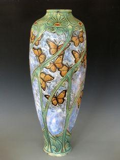 """Stephanie Young, """"Nouveau Monarch Vase"""""""