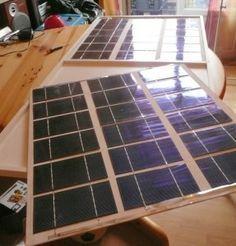 panneau solaire photovoltaïque DIY tuto en francais