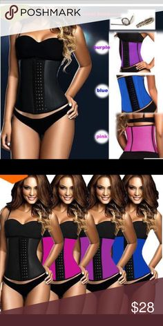 Latex Waist Training Cincher 9 Steel Boned Material:96% Cotton+4% Spandex, 100% Latex. Latex Waist Shapewear come with 9 pcs spiral steel bones, It's flexible and durable, as soft as plastic bones, can bend easily but recover quickly to origin. High compression. It will also works for LONG TORSO. It helps to reduce 4-5 inches in waist when you wear it. Intimates & Sleepwear Shapewear