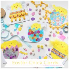 Mini Makers: Easy Peasy Easter Chick Cards