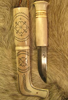 Saami knife by Bo-Göran Korvi Blade:80mm