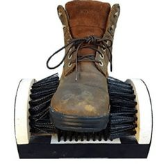 Buy Shoe Boot Cleaning Brush - Floor Mount Scraper - Commercial Grade With Permanent Mounting Hardware For Indoor / Outdoor Use, Kole, KoleImp. Clean Boots, Best Brushes, Look Good Feel Good, Diy Cleaners, Cool Boots, Brush Cleaner, Chrome Plating, Your Shoes, Shoe Boot