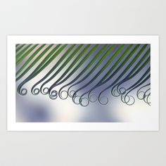 Cycas - leaf born 2664 Art Print by metamorphosa - $22.88