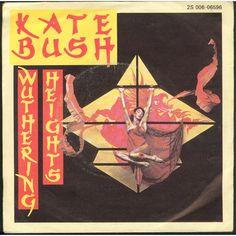 Kate Bush Cime Tempestose - EX Italian vinyl single inch record) Kate Bush Wuthering Heights, David Gilmour, Vinyl Cd, Vinyl Records, Rare Vinyl, Official Charts, Uk Singles Chart, Pop Rock, Music Albums