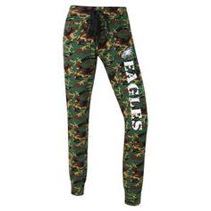 Women's Concept Sports Camo Philadelphia Eagles Knit Camo Pants