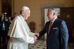 El papa y el rey jordano se comprometieron a promover el diálogo en Jerusalén