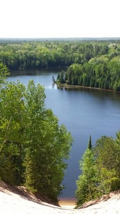 Foote Pond Overlook, Huron Manistee National Forest