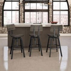 Shop for Amisco Woodland Screw Metal and Wood Stool. Get free shipping at Overstock.com - Your Online Furniture Outlet Store! Get 5% in rewards with Club O! - 17754584