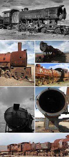train graveyard bolivia