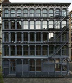 Judd Foundation 101 Spring Street exterior